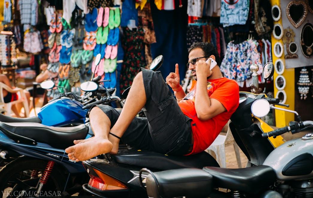 Рынок в Палолеме, Южный Гоа