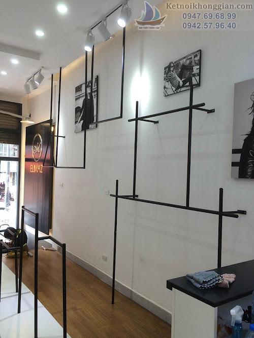 thi công nội thất cửa hàng đẹp, thiết kế shop thời trang Elimaz