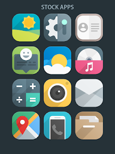 Flui icon pack Screenshot