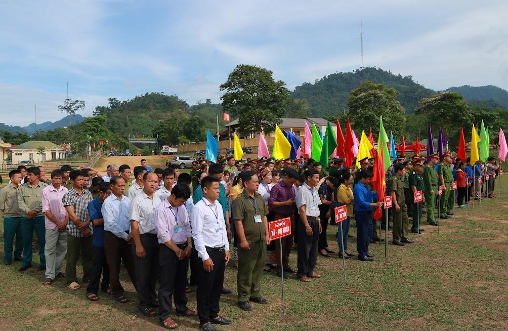 Các ban, ngành, đoàn thể huyện Tương Dương ra quân Tháng hành động phòng, chống ma túy