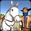 Cowboy Equitação Simulation icon