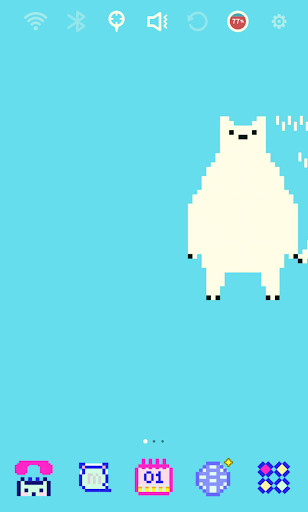 【免費個人化App】Pixel Art - Polar Bear Theme-APP點子