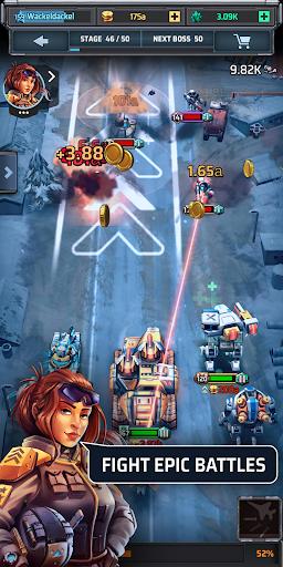 Idle War u2013 Tank Tycoon 0.4.3 screenshots 1