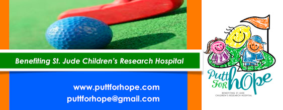 Photo: Blog site for Putt for Hope Event
