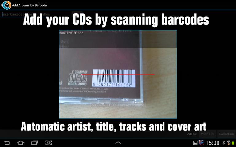 android CLZ Music - Music Database Screenshot 1