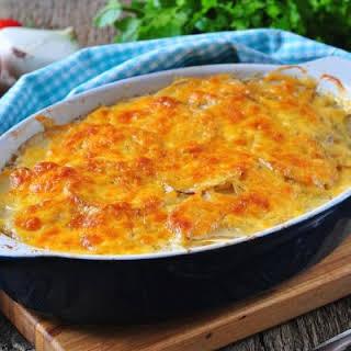No-Fuss Cheesy Vegetable Casserole.