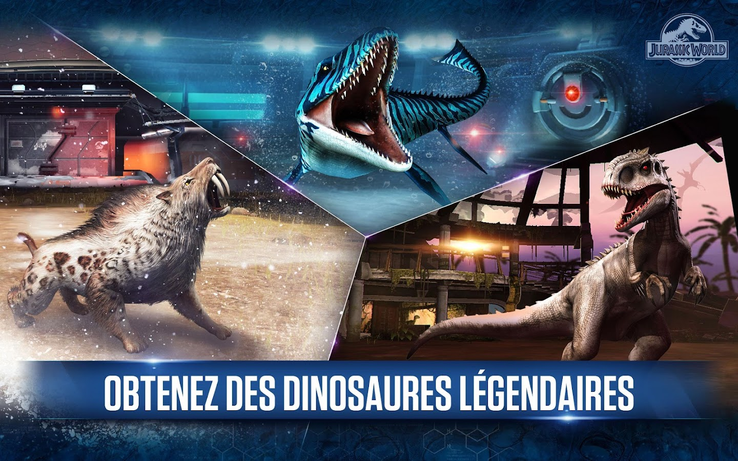 Jurassic World™: le jeu – Capture d'écran