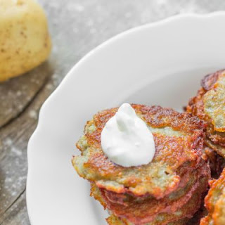 Crispy Fried Potato Latkes
