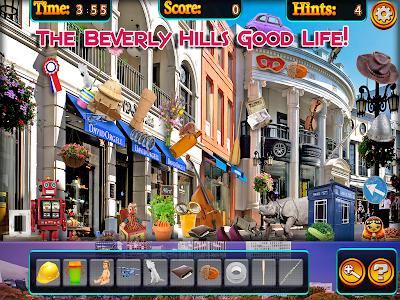 Hidden Objects - Beverly Hills screenshot 6