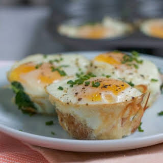 Baked Egg Tater Tot Muffins.