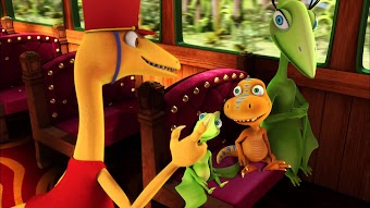 Dinosaur Train Submarine: Otto Opthalmosaurus/King Meets Crystal