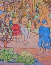 """Photo: Gauguin """"Orana María"""" Alumnado 5º"""