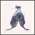 蝶の誕生-夜