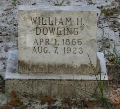 Photo: William Hardee Dowling son of John Darling Dowling and Sarah Johns / Husband of Saloma Thomas