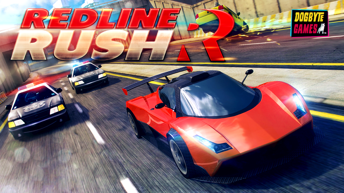 Redline Rush: Police Chase Racing Android App Screenshot