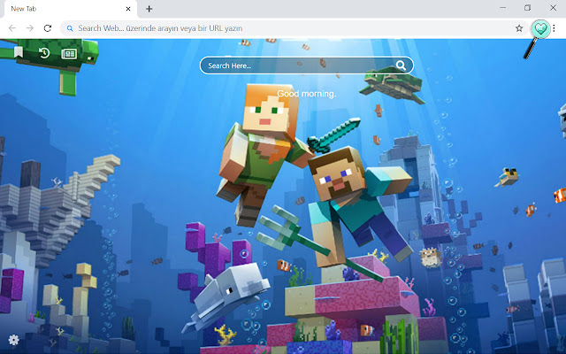 Minecraft Games Wallpapers Theme New Tab