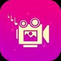 फोटो वीडियो बनाने वाला - संगीत वीडियो निर्माता icon