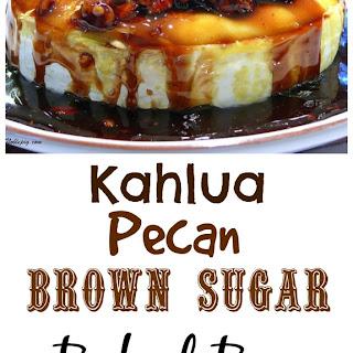 Kahlua Pecan Brown Sugar Baked Brie.