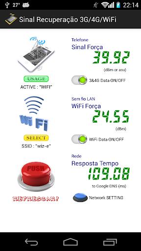 Sinal Recuperação 3G/4G/WiFi for PC