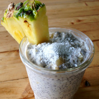 Pina Colada Chia Seed Pudding