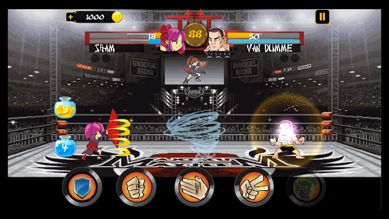 RoShamBo Hadouken Fighters - RPS Battle - náhled