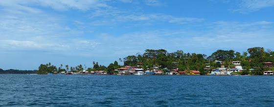 Photo: Bastimentos Town, on Isla Bastimentos