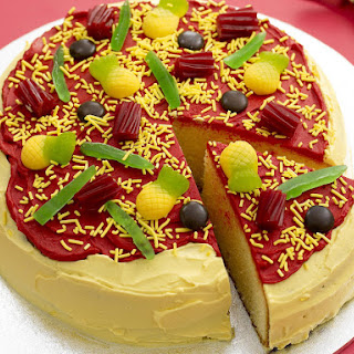 Pineapple Pizza Cake