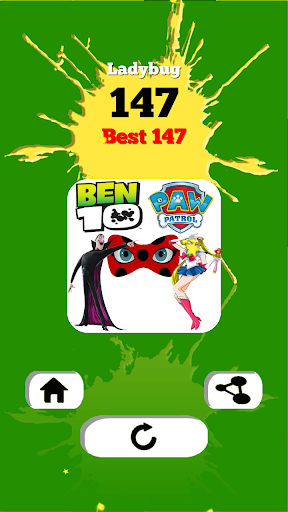 Paw Patrol and Ben 10 Piano Game