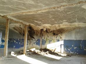 Photo: Обрушившийся потолок в одном из зданий