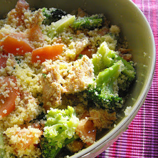 Salmon and Couscous Salad.