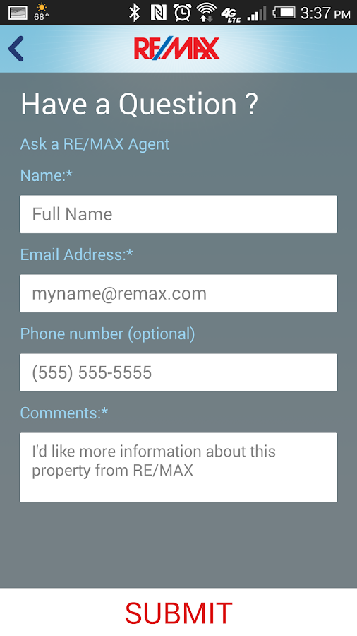 RE/MAX Real Estate Search (US)- screenshot