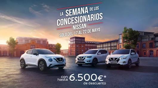 Arranca la semana de los concesionarios Nissan. Del 17 al 22 de mayo