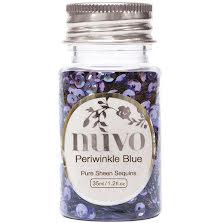 Tonic Studios Nuvo Sequins 35ml - Periwinkle Blue 1141N