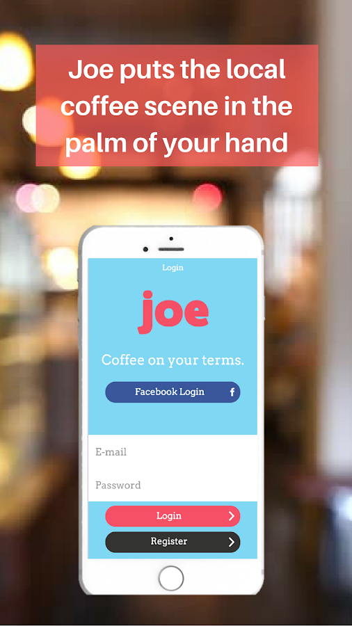 Joe - Coffee Mobile Ordering- screenshot
