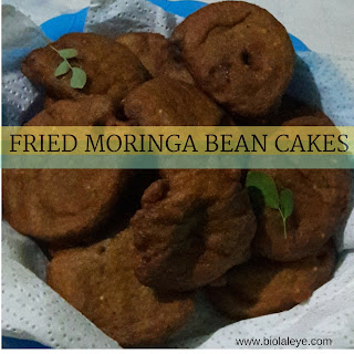 How to Make Fried Moringa Bean Cakes (Akara)