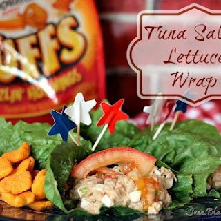 Tuna Salad Lettuce Wraps Recipe