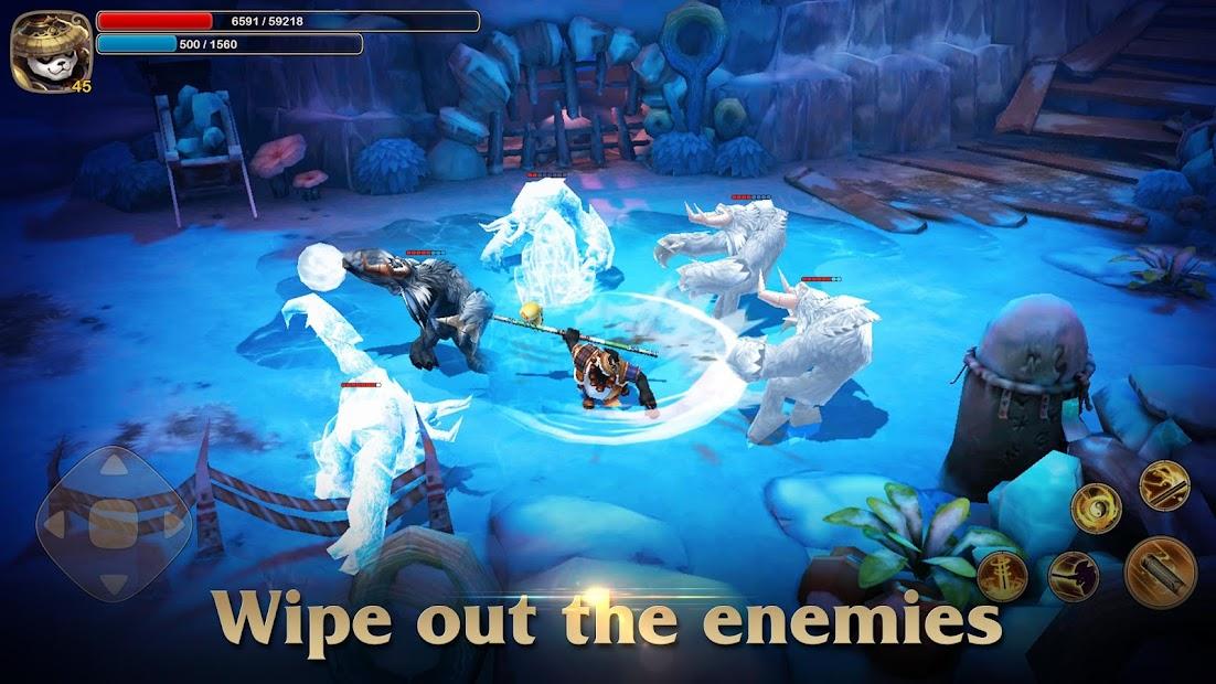 Taichi Panda: Heroes screenshot 3