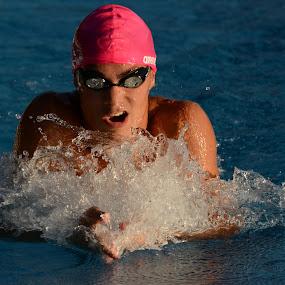 Pink by Jani Novak - Sports & Fitness Swimming ( miting radovljica )