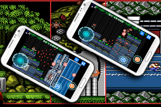 Classic game for contra Games (apk) free download for Android/PC/Windows screenshot