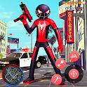 Amazing Superhero Stickman Rope Hero Gangstar icon