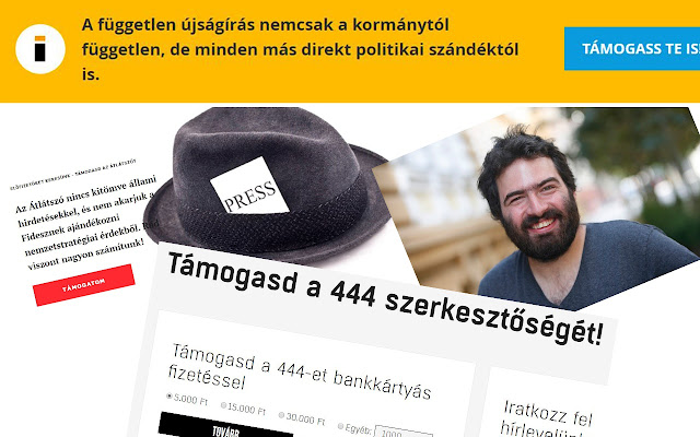 Tarhálás stop a magyar webes médiában