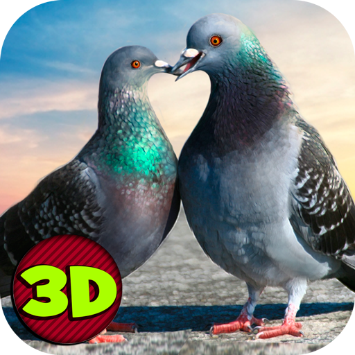 模擬App|Flying Bird Pigeon Simulator LOGO-3C達人阿輝的APP