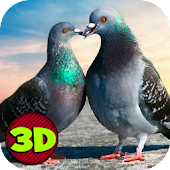 Flying Bird Pigeon Simulator