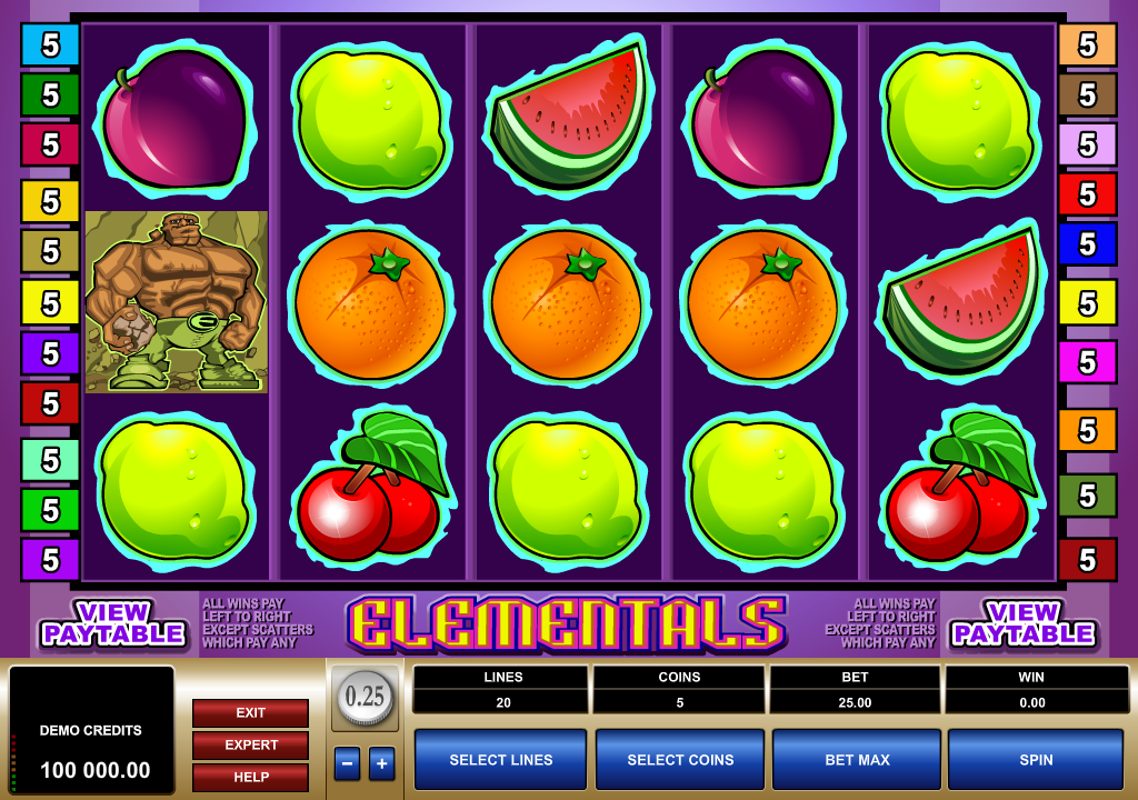 Elementals Slots Game Review