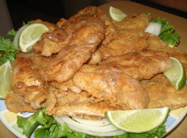Fried Cracker Crusted Snapper/cubereta Empanisada Frita Recipe