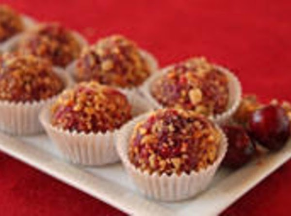 Walnut And Cranberry Candy Bites Recipe
