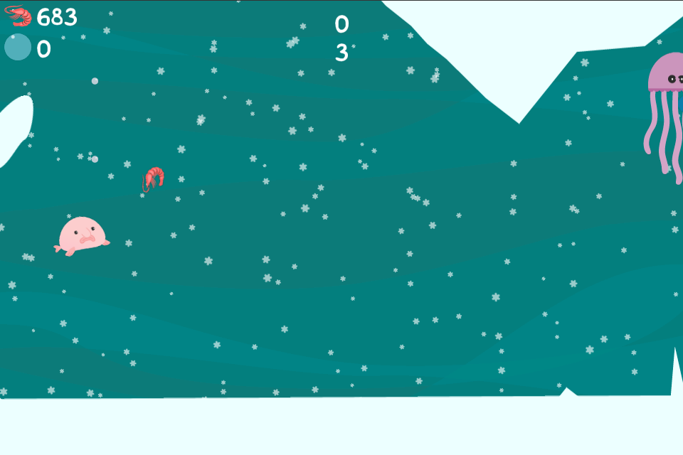 Blobby Fish- screenshot
