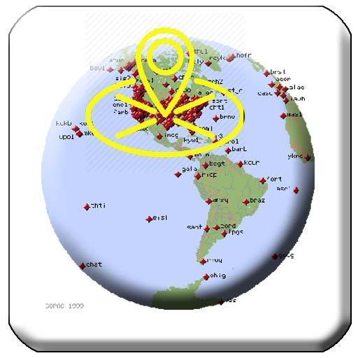 GPS Map Locations
