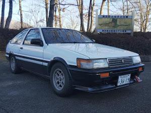 カローラレビン AE86 1600 GT-V・1984年式(昭和59年式)のカスタム事例画像 弥生さんさんの2019年01月21日18:08の投稿