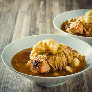 Slow Cooker Sauerkraut Soup